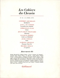 Collectifs - Les cahiers du Chemin N° 18 : .