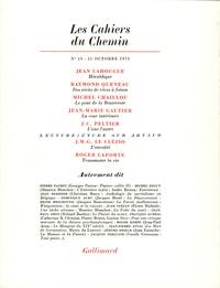 Collectifs - Les cahiers du Chemin N° 19 : .
