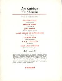 Collectifs - Les cahiers du Chemin N° 28, 15 Octobre 19 : .