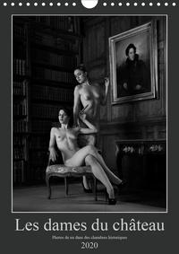 Martin Zurmühle - Les dames du château (Calendrier mural 2020 DIN A4 vertical) - Photos érotiques dans des chambres historiques (Calendrier mensuel, 14 Pages ).