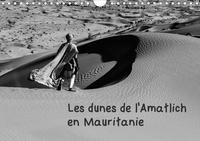 Michel Denis - Les dunes de l'Amatlich en Mauritanie.