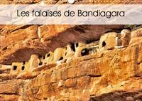 Patrick Bombaert - Les falaises de Bandiagara (Calendrier mural 2020 DIN A3 horizontal) - La région est un vaste plateau s'élevant progressivement depuis le fleuve jusqu'à la falaise. (Calendrier mensuel, 14 Pages ).