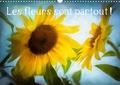 Dominique Guillaume - Les fleurs sont partout ! (Calendrier mural 2020 DIN A3 horizontal) - Couleurs et textures de fleurs (Calendrier mensuel, 14 Pages ).