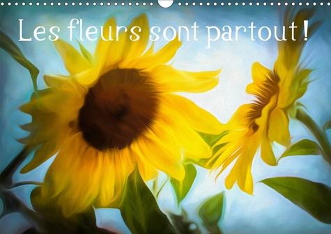Les fleurs sont partout ! (Calendrier mural 2020 DIN A3 horizontal). Couleurs et textures de fleurs (Calendrier mensuel, 14 Pages )