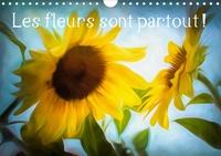 Dominique Guillaume - Les fleurs sont partout ! (Calendrier mural 2020 DIN A4 horizontal) - Couleurs et textures de fleurs (Calendrier mensuel, 14 Pages ).