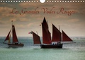 Dominique Guillaume - Les Grandes Voiles Rouges (Calendrier mural 2020 DIN A4 horizontal) - Ballet de voiles et de vieux gréements (Calendrier mensuel, 14 Pages ).
