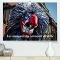 Alain Gaymard - Les masques du carnaval de Bâle (Calendrier supérieur 2020 DIN A2 horizontal) - Le carnaval est un moment de défoulement. A Bâle, les masques envahissent la ville. (Calendrier mensuel, 14 Pages ).