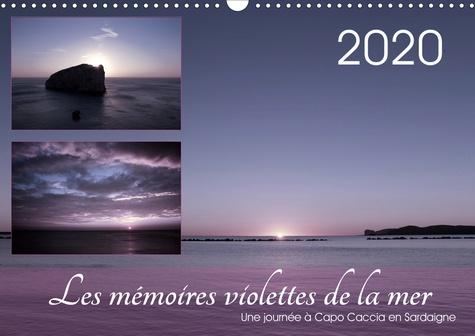 Les mémoires violettes de la mer (Calendrier mural 2020 DIN A3 horizontal). Paysages de rêve à Capo Caccia en Sardaigne (Calendrier mensuel, 14 Pages )
