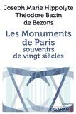 Joseph Marie Hippolythe Bazin de Bozons - Les monuments de Paris - Souvenirs de vingt siècles.