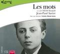 Jean-Paul Sartre - Les mots. 1 CD audio MP3