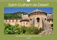Thomas Bartruff - Les plus beaux villages de France - Saint-Guilhem-le-Désert (Calendrier mural 2020 DIN A4 horizontal) - Circuit à travers St Guilhem la moyenâgeuse (Calendrier mensuel, 14 Pages ).