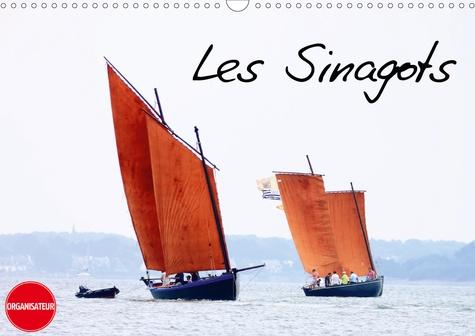 Les Sinagots (Calendrier mural 2020 DIN A3 horizontal). Photos d'anciens bateaux de pêche du début du XXe siècle (Calendrier anniversaire, 14 Pages )