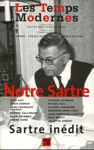 Jean Cau et Régis Debray - Les Temps Modernes N° 632/633/634, Juil : Notre Sartre.