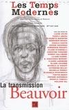 Laure Adler et Fadela Amara - Les Temps Modernes N° 647-648, Janvier- : La transmission Beauvoir.