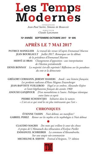 Claude Lanzmann - Les Temps Modernes N° 695, septembre-oc : Après le 7 mai 2017.