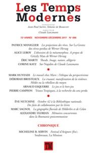Claude Lanzmann - Les Temps Modernes N° 696, novembre-déc : .