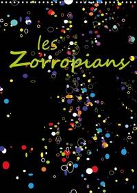 Georges Mifsud - les Zorropians (Calendrier mural 2020 DIN A3 vertical) - Douze portraits souriants d'humoristes, d'artistes et de sportifs d'une Europe dynamique. (Calendrier mensuel, 14 Pages ).