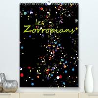 Georges Mifsud - les Zorropians (Calendrier supérieur 2020 DIN A2 vertical) - Douze portraits souriants d'humoristes, d'artistes et de sportifs d'une Europe dynamique. (Calendrier mensuel, 14 Pages ).