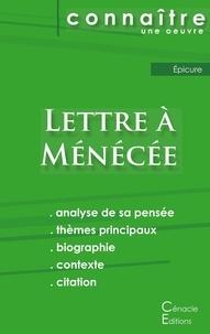 Epicure - Lettre à Ménécée - Fiche de lecture.