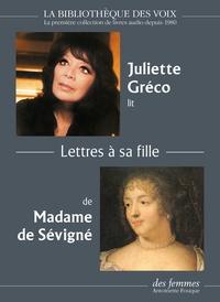 Madame de Sévigné - Lettres à sa fille. 1 CD audio MP3