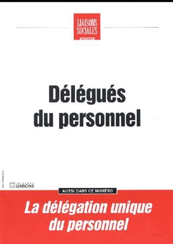 Natacha Marignier et Marie-Françoise Clavel-Fauquenot - Liaisons Sociales Quotidien Décembre 1998 : Délégués du personnel.