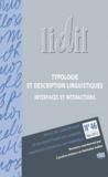 Caroline Imbert et Nathalie Vallée - LIDIL N° 46, Décembre 2012 : Typologie et description linguistiques - Interfaces et interactions.