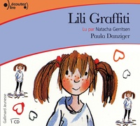 Paula Danziger - Lili Graffiti - CD audio.