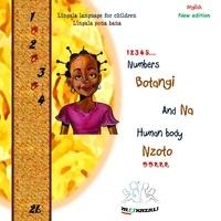 Mukazali - Lingala language for children/lingala pona bana - Numbers-Botangi nd-na Human body-Nzoto.