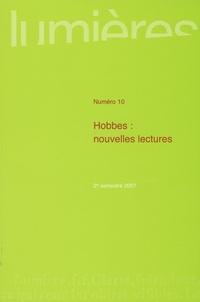 Jean Terrel et Jauffrey Berthier - Lumières N° 10 : Hobbes : nouvelles lectures.