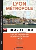 Blay-Foldex - Lyon Métropole - Atlas des 59 communes de la Métropole de Lyon - 1/180 000.