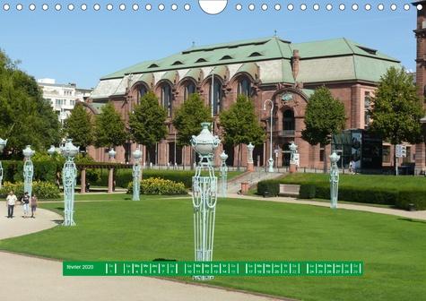 MANNHEIM -  La ville des carrés (Calendrier mural 2020 DIN A4 horizontal). MANNHEIM - La ville des carrés (Calendrier mensuel, 14 Pages )