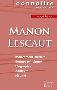 Antoine-François Prévost d'Exiles - Manon Lescaut - Fiche de lecture.