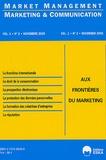 Yves Chirouze et Krist Duniach-Smith - Marketing & Communication Volume 1, N°2, Novem : Aux frontières du marketing.