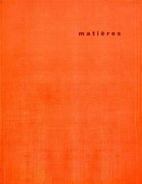 Jacques Lucan et Bruno Marchand - Matières N° 10/2012 : .