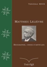Matthieu Lelièvre - Biographie, choix darticles.pdf