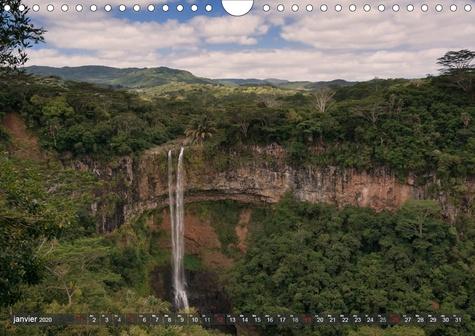 Maurice, île de rêve (Calendrier mural 2020 DIN A4 horizontal). Nature tropicale et des plages magnifiques (Calendrier mensuel, 14 Pages )