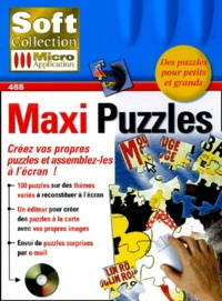 Micro Application - Maxi Puzzles. - CD-ROM.