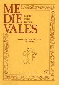 Stéphane Lebecq - Médiévales N° 20, Printemps 199 : Sagas et chroniques du Nord.