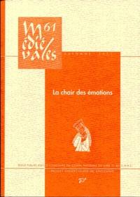 Damien Boquet et Piroska Nagy - Médiévales N° 61, Automne 2011 : La chair des émotions.