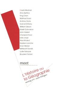 David Albahari - Meeting N° 6 : L'Histoire ou la Géographie.