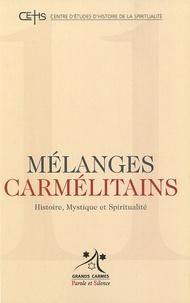 Patrick Sbalchiero - Mélanges carmélitains N° 11/2010 : .