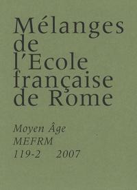 Guido Castelnuovo - Mélanges de l'Ecole française de Rome N° 119-2/2007 : .