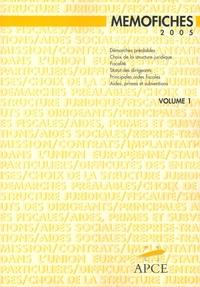 df2b23796d6 Mémofiches en 2 Volumes - Aide-mémoire.... APCE - Decitre ...