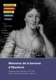 Henriette Louise d' Oberkirch - Mémoires de la baronne d'Oberkirch - Empreinte d'une belle âme.