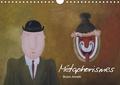 Bruno Aimetti - Métaphorismes (Calendrier mural 2020 DIN A4 horizontal) - Douze tableaux de l'artiste Bruno Aimetti où la poésie côtoie l'imaginaire entre dérision et tendresse. (Calendrier mensuel, 14 Pages ).