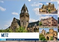 Thomas Bartruff - Metz - question de point de vue (Calendrier mural 2020 DIN A3 horizontal) - Promenade au coeur de la capitale du département de la Moselle (Calendrier mensuel, 14 Pages ).
