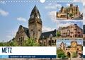 Thomas Bartruff - Metz - question de point de vue (Calendrier mural 2020 DIN A4 horizontal) - Promenade au coeur de la capitale du département de la Moselle (Calendrier mensuel, 14 Pages ).