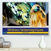 Carine Dito - Minéraux fantasmagoriques (Calendrier supérieur 2020 DIN A2 horizontal) - Photographies artistiques de minéraux (Calendrier mensuel, 14 Pages ).