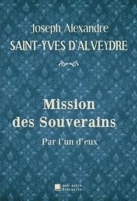 Autre librairie édition Mon - Mission des Souverains - Par l'un d'eux.