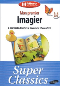 Collectif - Mon premier imagier 3/5 ans - CD-ROM.